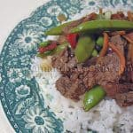 Beef and Sugar Snap Stir Fry