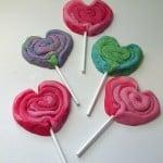 Valentine Play Dough Cookie Pops