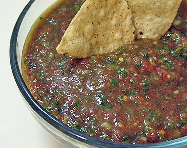 Amanda's Homemade Salsa from Canned Tomatoes