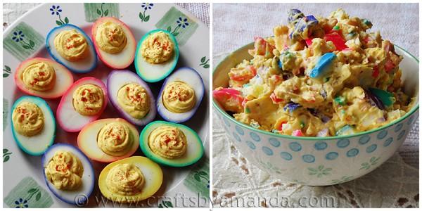 rainbow-deviled-eggs-and-egg-salad