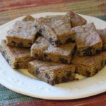 Chocolate Chip Coffee Snack Bars