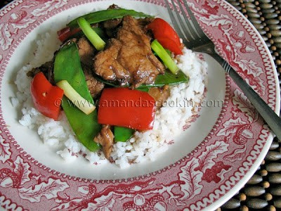 Peppercorn Pork Stir Fry