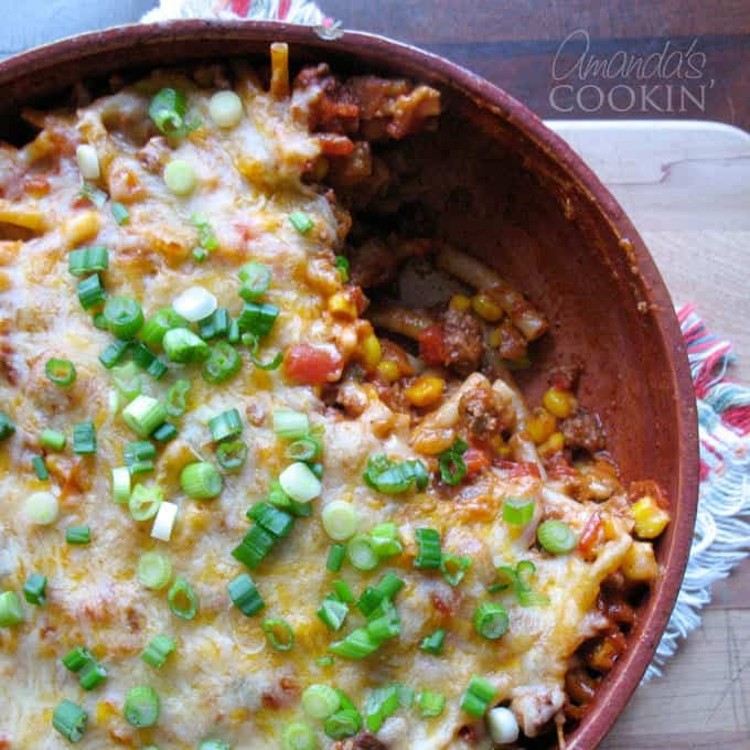 Ground Beef Casserole: Delicious Southwest Flavors In An