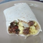 Breakfast Burritos for the Freezer