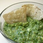 Tomatillo Onion Avocado Salsa