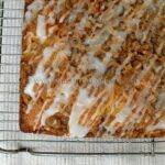 Tropical Crumb Cake with Rum Drizzle