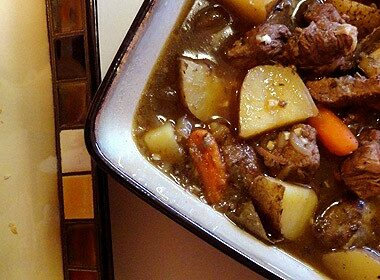 Beef Stew with Parsley, Sage, Rosemary and Thyme