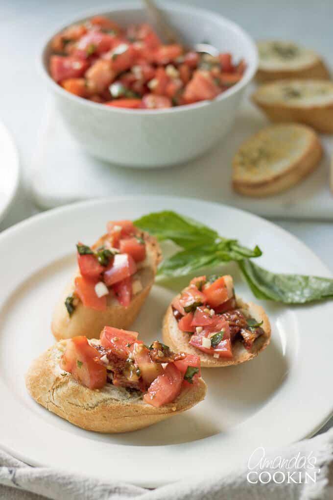 Bruschetta Recipe- great for parties!