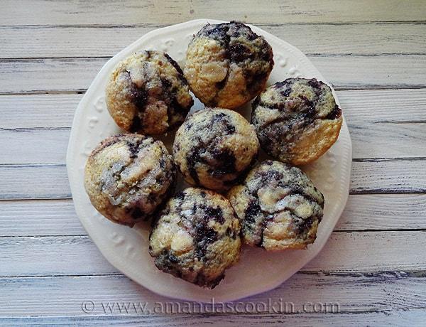 Cherry Swirl Muffins