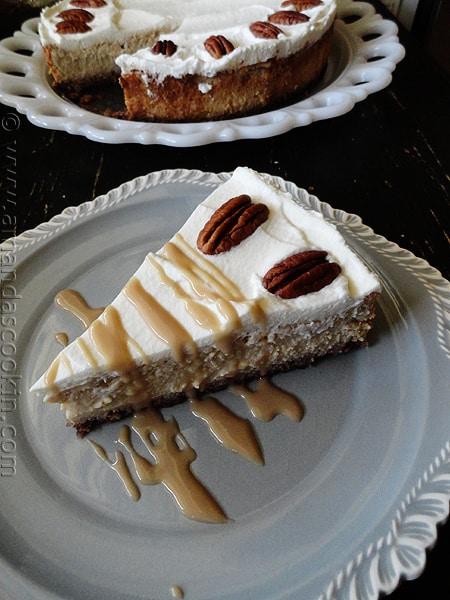 Maple Praline Cheesecake