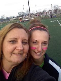 A photo of Amanda Formaro and her daughter Kristen.
