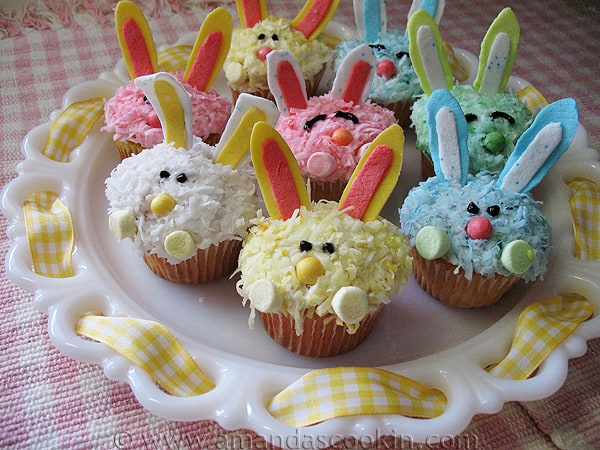 Easter cupcake ideas for Cute cupcake decorating ideas for easter