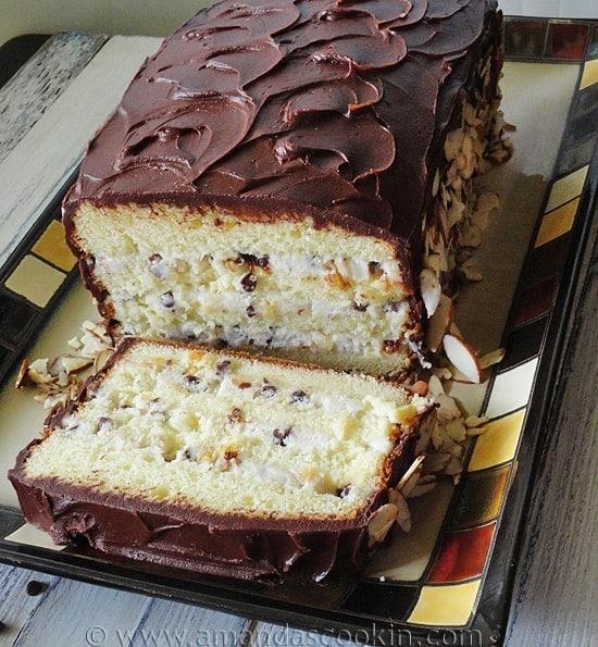 Cassata Cake - Amanda's Cookin'