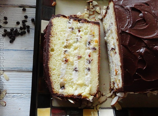 Cassata Cake Recipe — Dishmaps