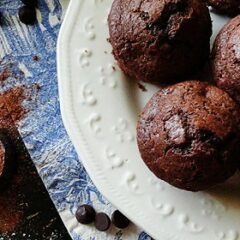 Starbuck's Hot Cocoa Chocolate Chip Muffins