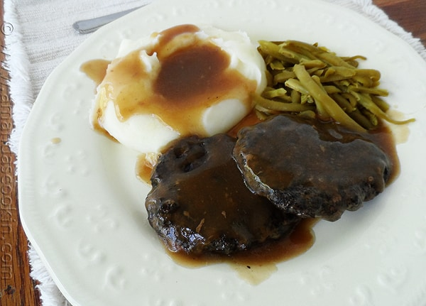 Portobello Salisbury Steaks