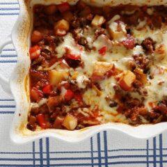 Italian Sausage & Potato Casserole