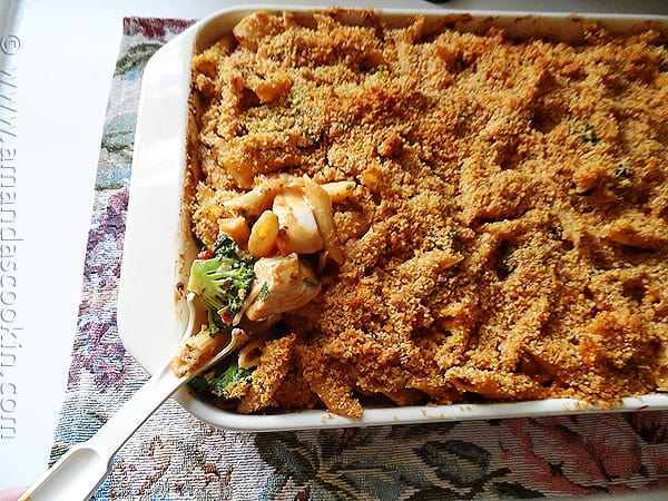 Chicken Broccoli Penne Casserole