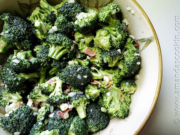 Broccoli Salad | Amanda's Cookin'
