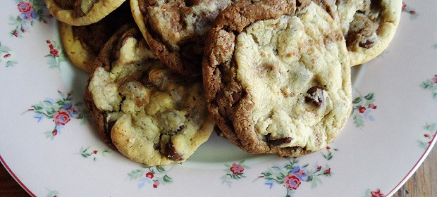 Double Stack Chocolate Chip Cookies