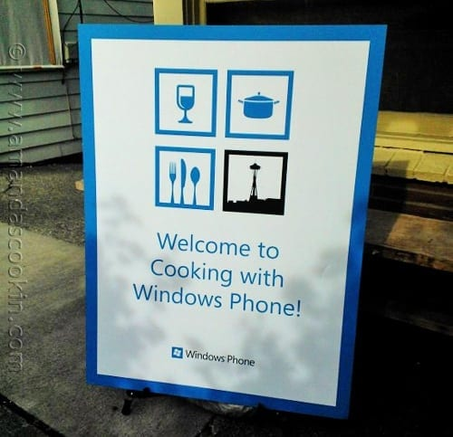 Cooking with Windows Phone