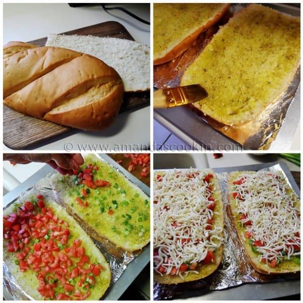 Mozzarella Provolone Bruschetta