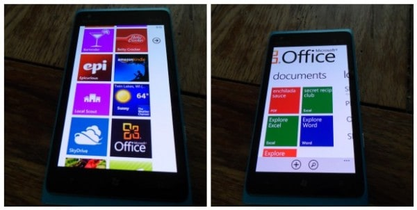 Microsoft Office on Windows Phone