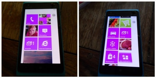 Start screen on my Windows Phone