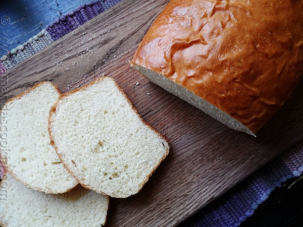 1963 Homemade White Bread