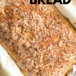 everything peasant bread in a pan