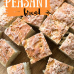 squares of everything peasant bread