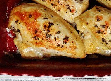 Golden Roasted Chicken Breasts