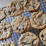 Big Soft Chocolate Chip Cookies AmandasCookin.com