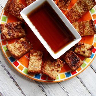 Make your own freezer french toast sticks - AmandasCookin.com