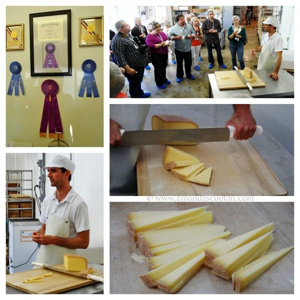Wisconsin Cheese Tour AmandasCookin.com
