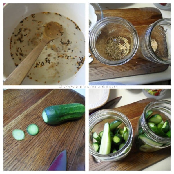 Homemade Claussen Pickles Copycat steps by AmandasCookin.com