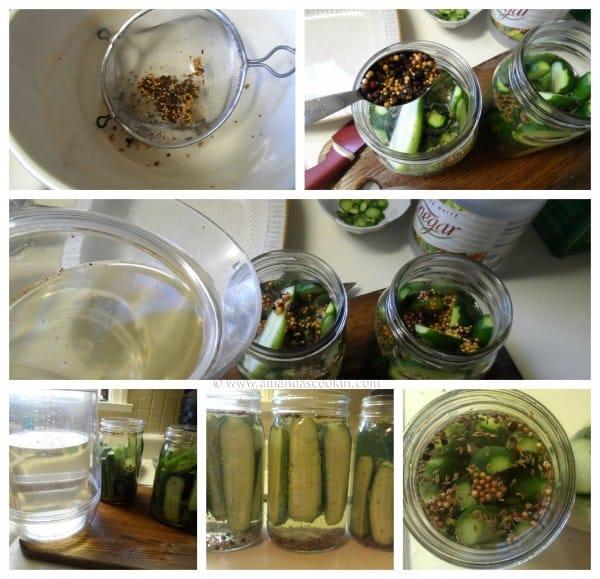 Homemade Claussen Pickles Copycat steps by AmandasCookin.com
