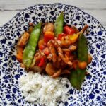 Peppered Pork Stir Fry with Sweet Peppers