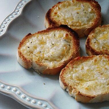 7 Cheese Garlic Spread by AmandasCookin.com