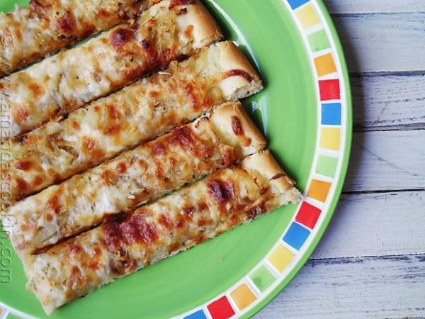 Caramelized Onion & Rosemary Focaccia - AmandasCookin.com