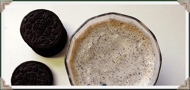 Chocolate Hazelnut Coffee Milkshake