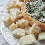 Ricotta Spinach Dip - AmandasCookin.com