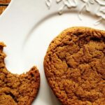 Sugar Crusted Molasses Spice Cookies - AmandasCookin.com