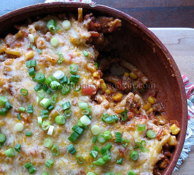 Southwest Ground Beef Casserole