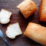 Amish White Bread Mini Loaves - AmandasCookin.com