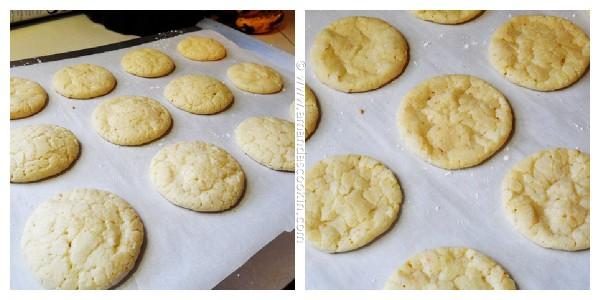 Orange Crinkle Cookies - AmandasCookin.com