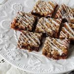 Blackberry Cheese Streusel Bars