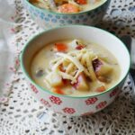 Rustic Garlic Potato Soup