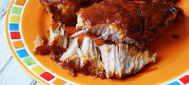 Slow Cooker Barbecued Country Style Ribs