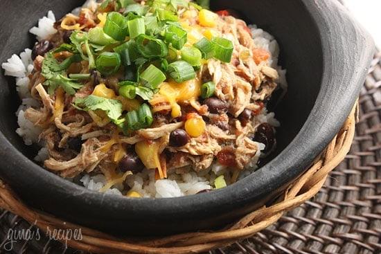15 Chicken Recipes for Dinner - Crock Pot Santa Fe Chicken